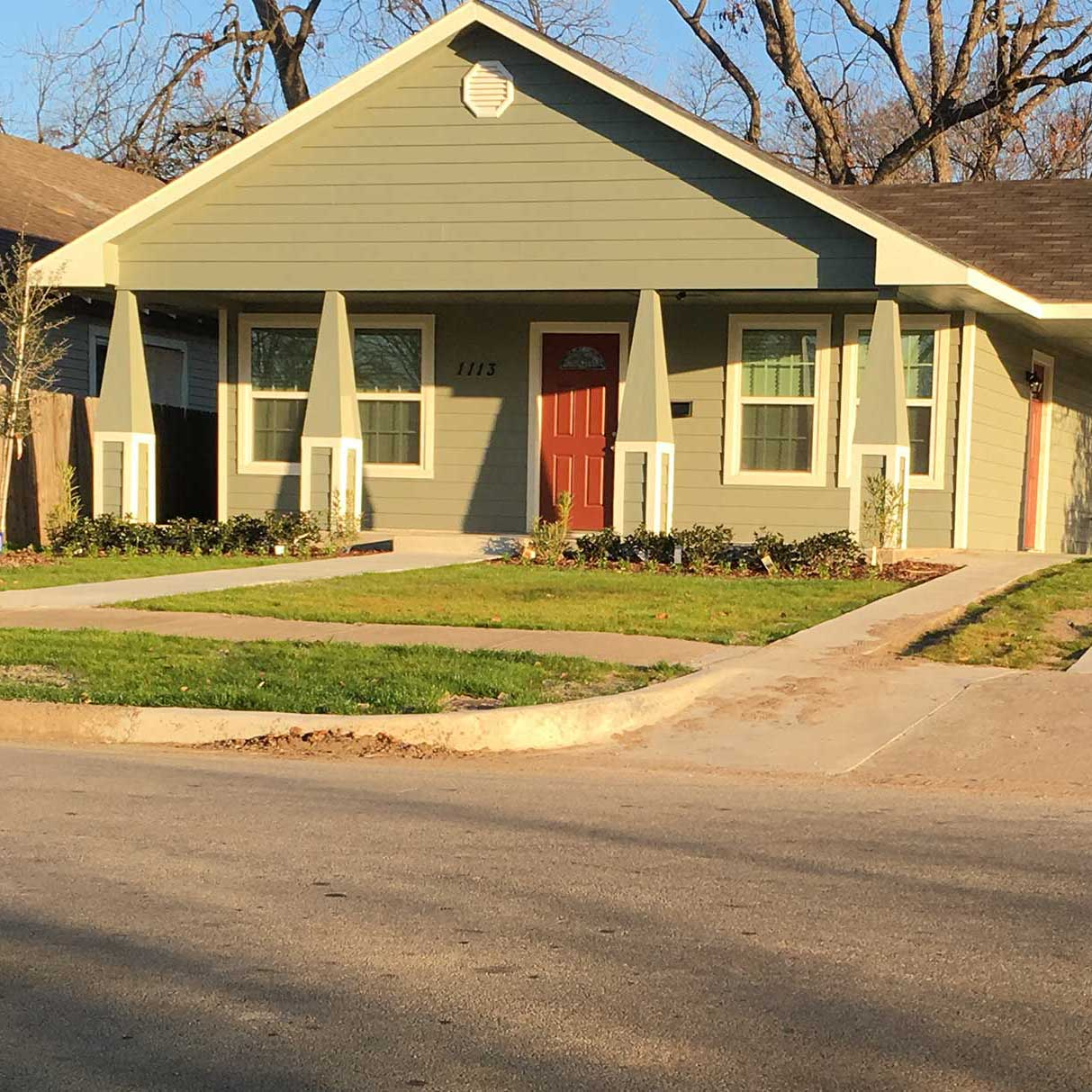 Our Projects Tarrant County Affordable Housing Custom Home Green Builder