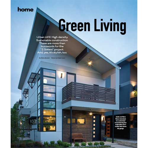 Ferrier Custom Homes Press 76107 Green Living