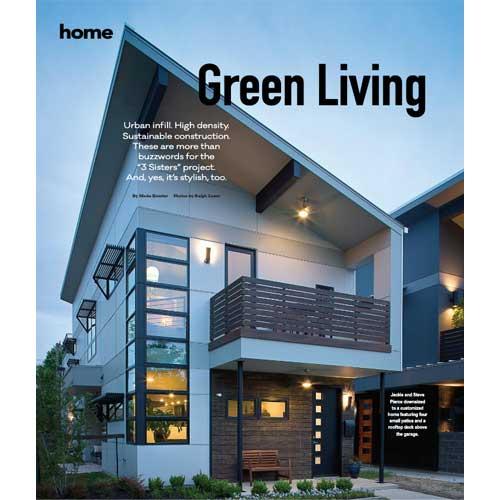 Ferrier Custom Homes Press 76107 Green Living